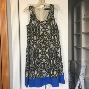 The Limited A-Line Printed Dress